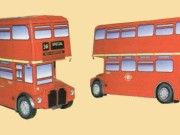 Routemaster RM AEC AV590 Double-decker Bus Free Vehicle Paper Model Download