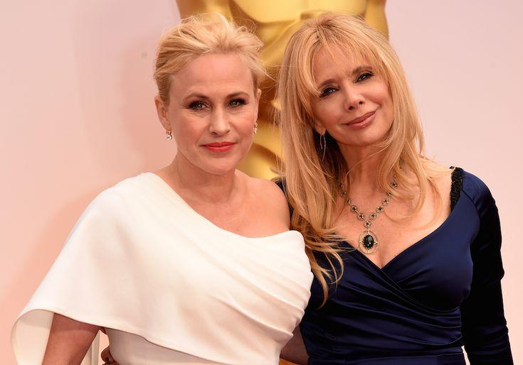Oscar 2015, Patricia Arquette and Rosanna Arquette