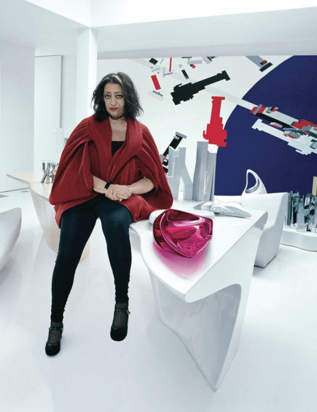 Arquitecta más famosos del siglo 21 Zaha Hadid
