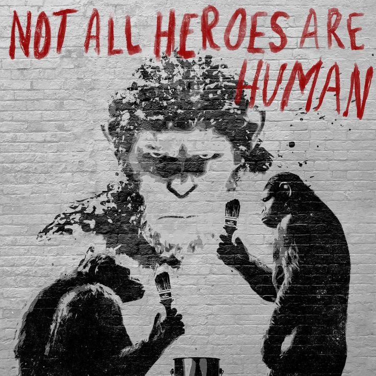 Kaikki sankarit eivät ole ihmisiä    SOTA APINOIDEN PLANEETASTA nyt elokuvateattereissa