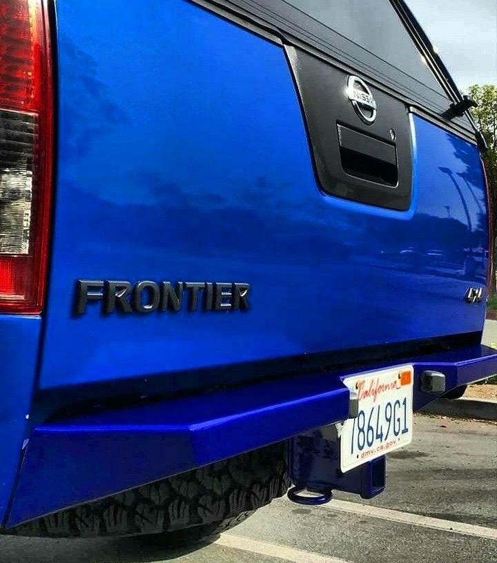 Rear Plate Bumper Nissan Navara D40 Nissan Frontier Nissan Pathfinder