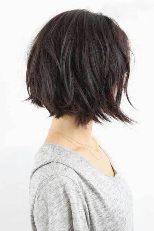 hair style for me 25 trending textured bob hairstyles ideas on 4468 | 0b9c8f91def1e4452c1a4468d26499c3