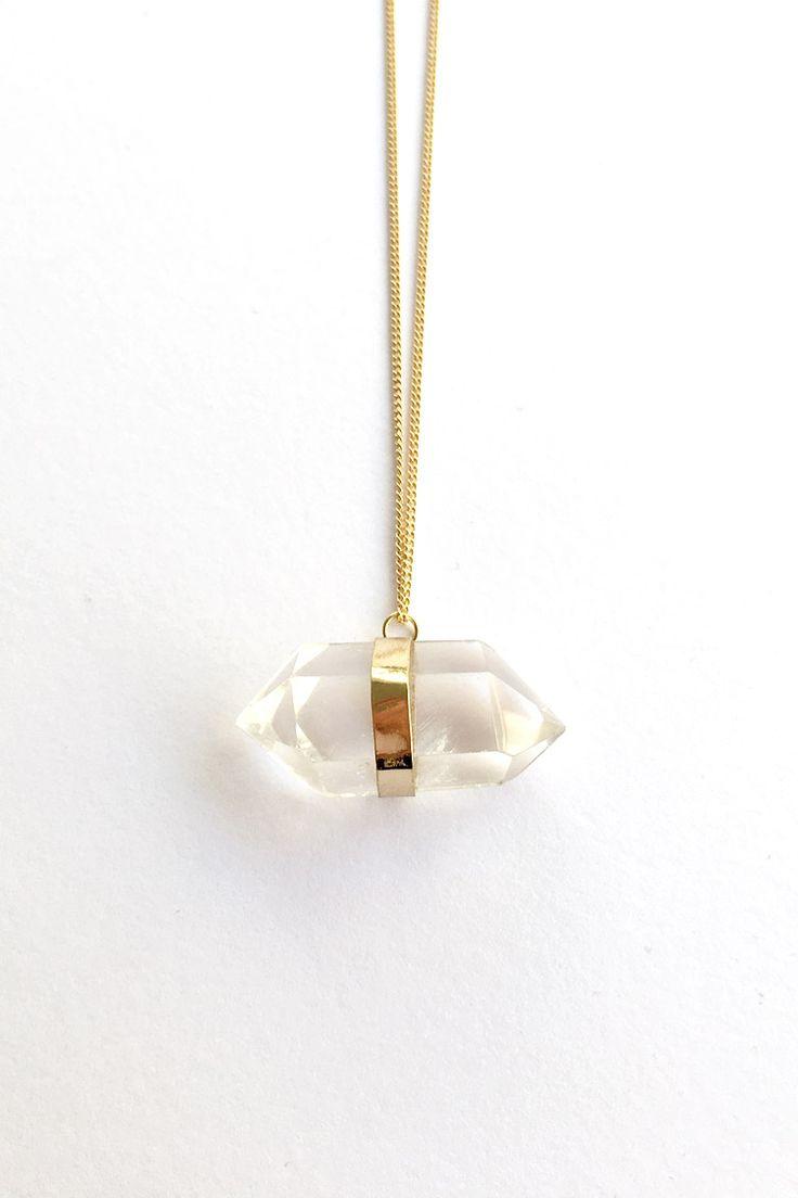 Crystal Κολιέ - Χρυσό - 19,90 € - http://www.ilovesales.gr/shop/crystal-kolie-chryso/