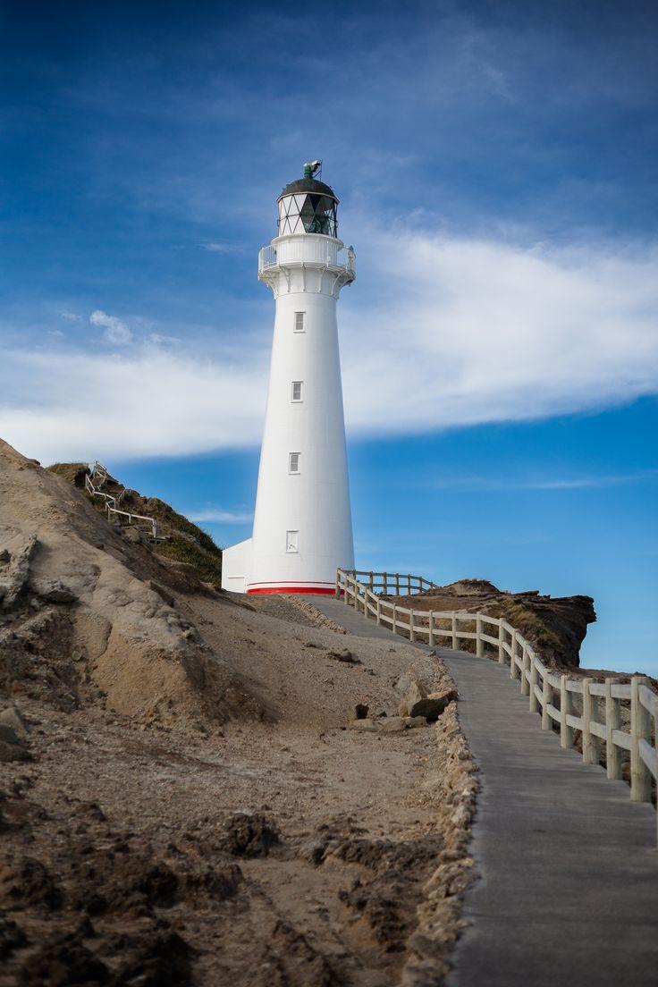 Castle Point Lighthouse, Wellington, North New Zealand