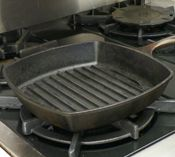 How To: Use and Care For a Cast Iron Grill Pan