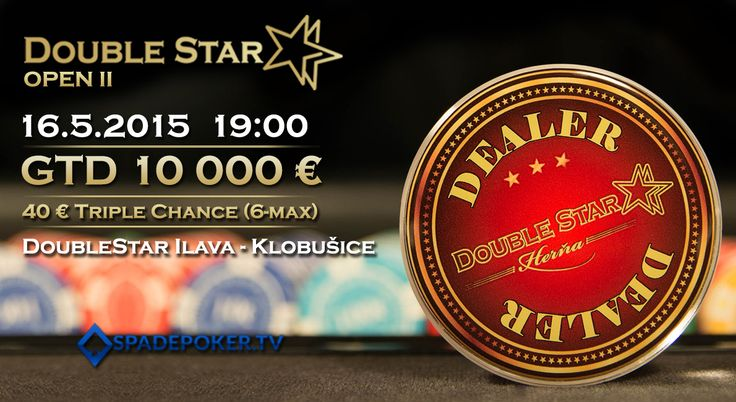DoubleStar OPEN II GTD 10 000€ 16.5.2015 DoubleStar Ilava-Klobušice