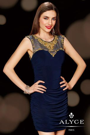 Alyce Paris Homecoming - 4383 A stunning dress for your weekend plans.