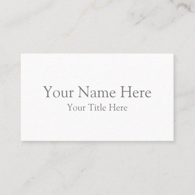 Create Your Own Standard Business Card Zazzle Com Printing Business Cards Cards Business Card Design