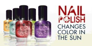 Del Sol Color Change Nail Polish #Giveaway 5 Winners Will Receive 2 Bottles