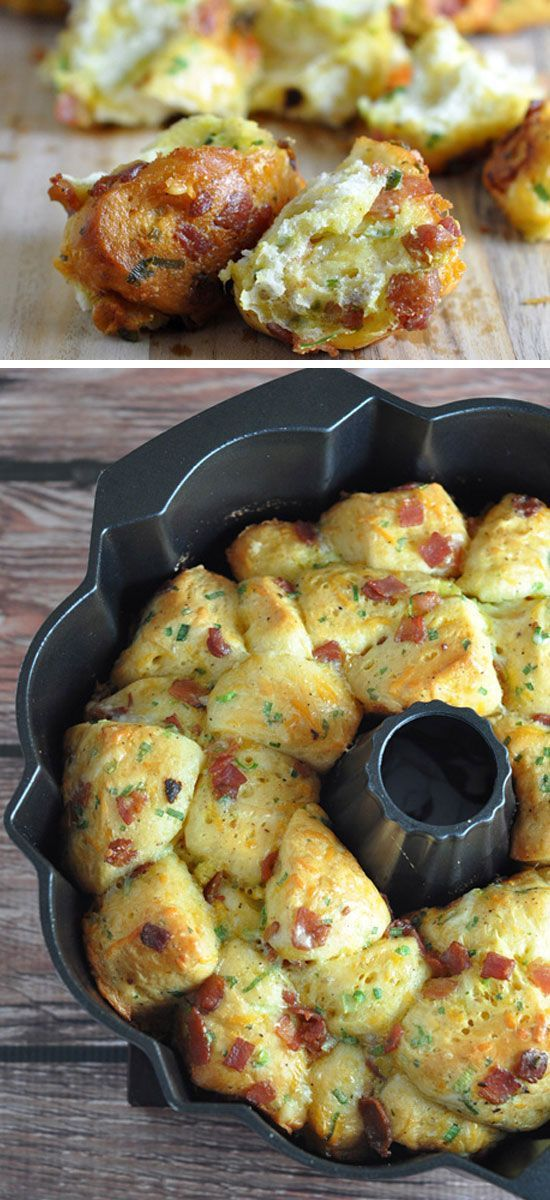 Breakfast Pull Apart Bread Food As Art Pinterest Pull Apart