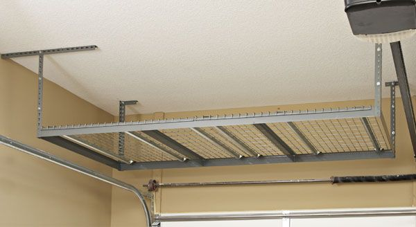 10 best images about ceiling overhead storage ideas on for High loft garage storage