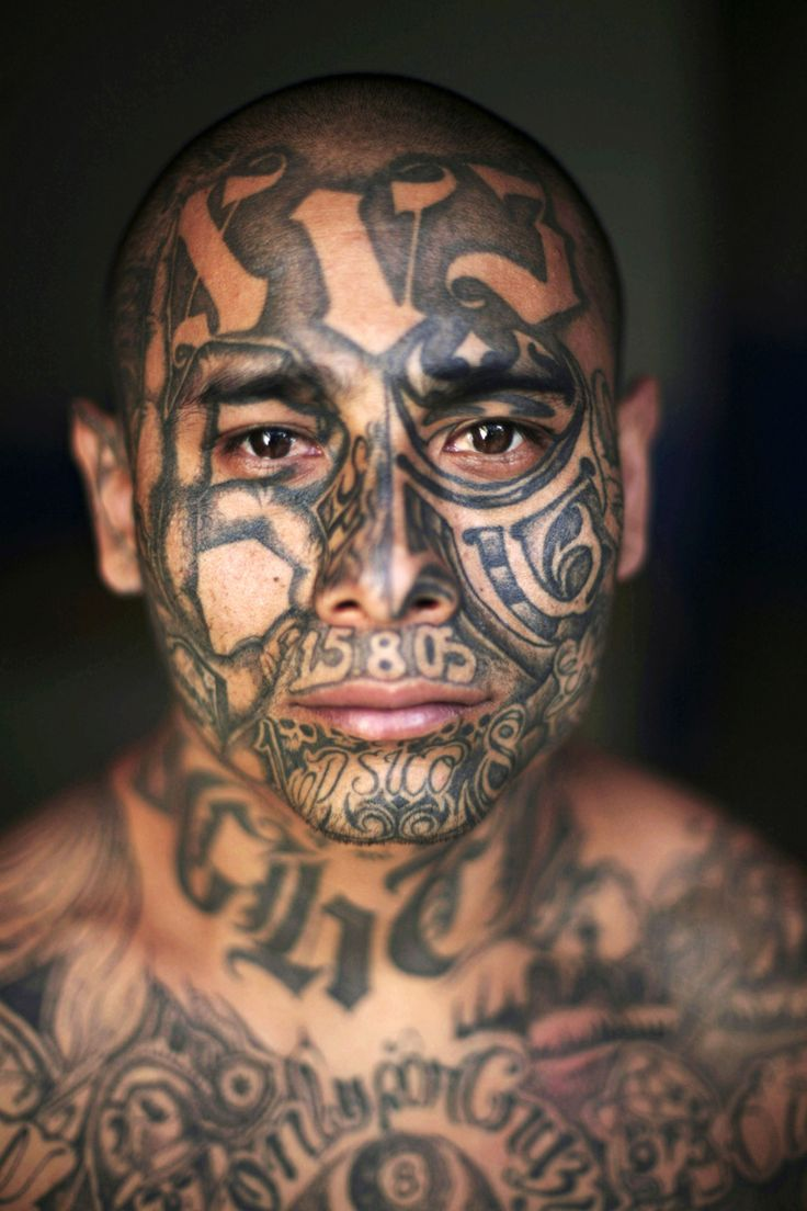 Baby portrait tattoo ideas - These Are Gang Tattoos Of Inmates In South America Prisons The Ornately Tattooed Mara Salvatrucha And The Street Gang Members Are Many
