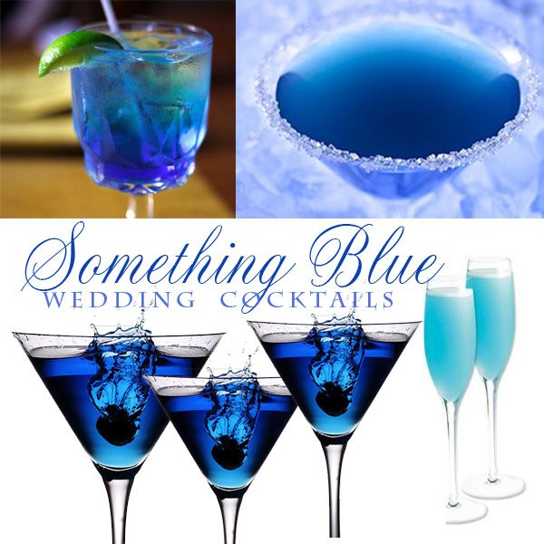 "The last of our blog mini-series - ""Something Blue"" Wedding Cocktail Recipes! Check out our #ThirstyThursday post by Boston Wedding Planner Donna Kim of The Perfect Details!"