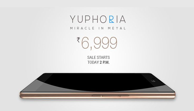 YU Yuphoria By Micromax's Now Available On Amazon India