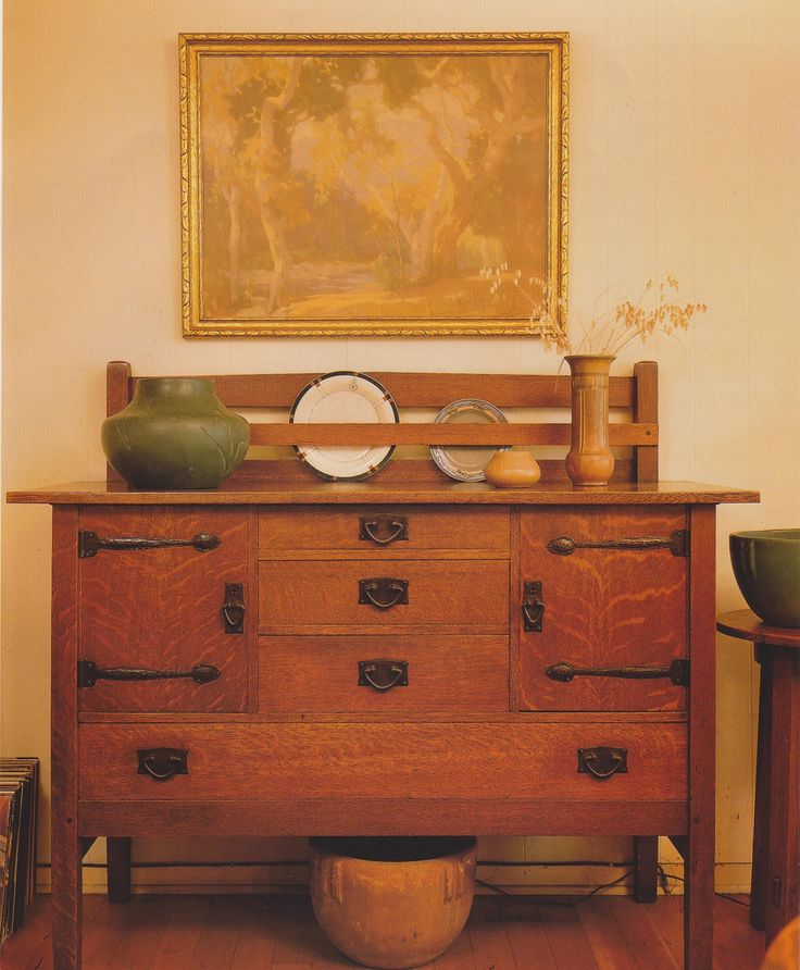 An Arts & Crafts sideboard