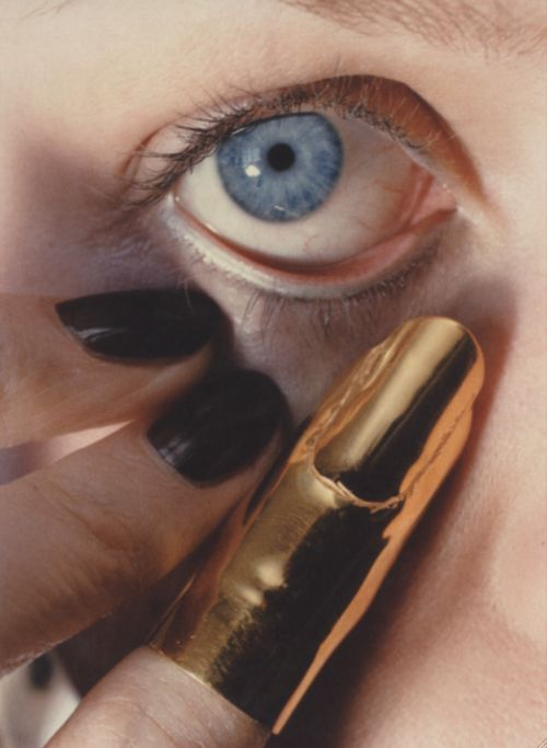 Gold finger by Helmut Newton- not something I would normally love