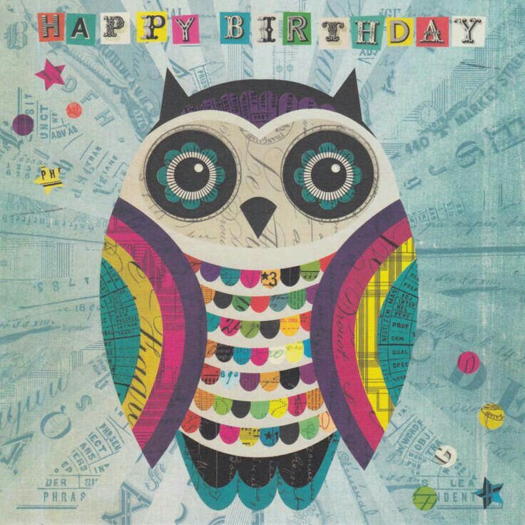 Happy Birthday Gorgeous Owl