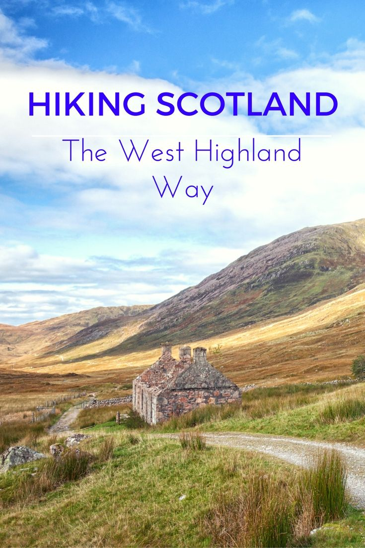 One of the most spectacular hiking & backpacking trips through Scotland is the 100-mile West Highland Way.  Here's a few tips for this trail.