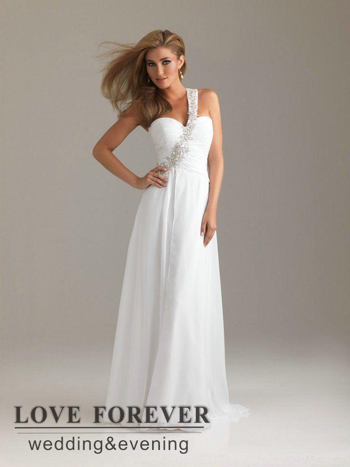 vestidos de graduacion blanco - Buscar con Google