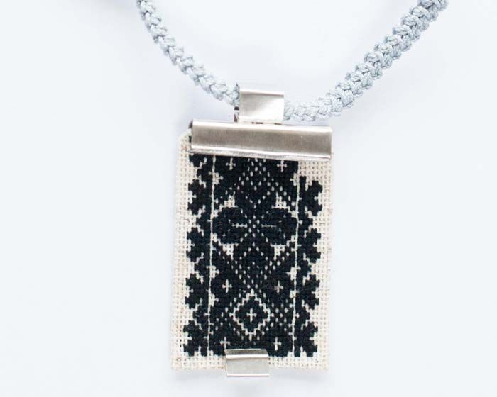 Romanian motifs combined with contemporary jewellery