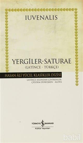 Yergiler - Saturae