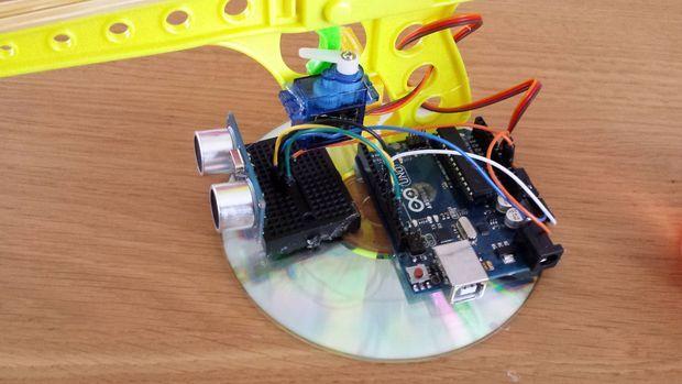 Arduino sentry gun