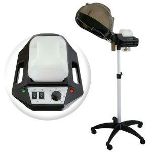 Professional Salon Hair Steamer with Rolling Floor Stand Base