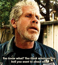 He Was Definitely His Own Man For Good And Bad Clay Morrow In