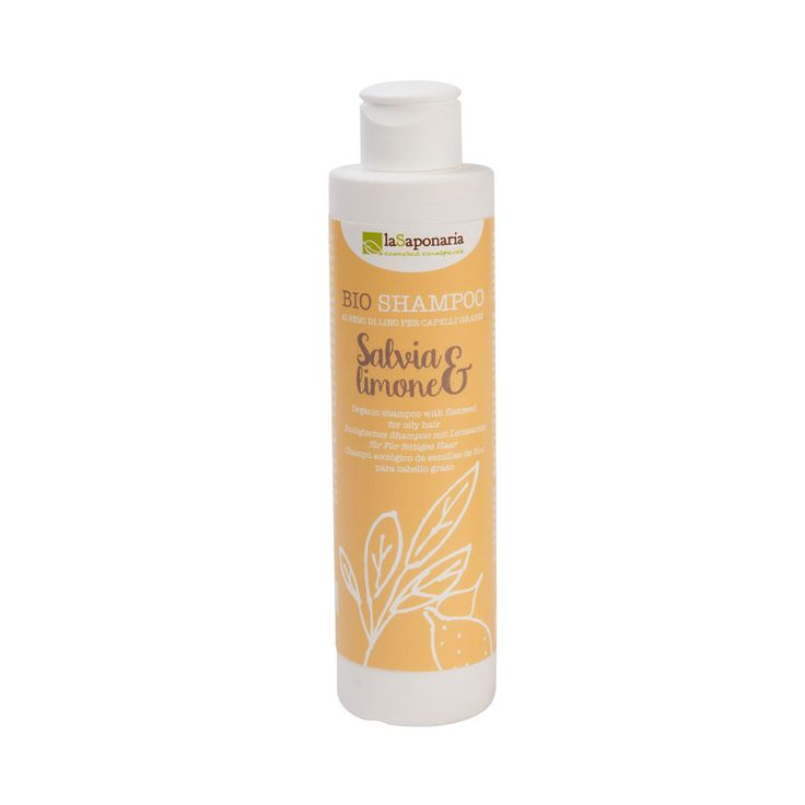 """Bio Haarshampoo """"Salbei & Zitrone"""" für fettige Kopfhaut 200ml #vegan"""