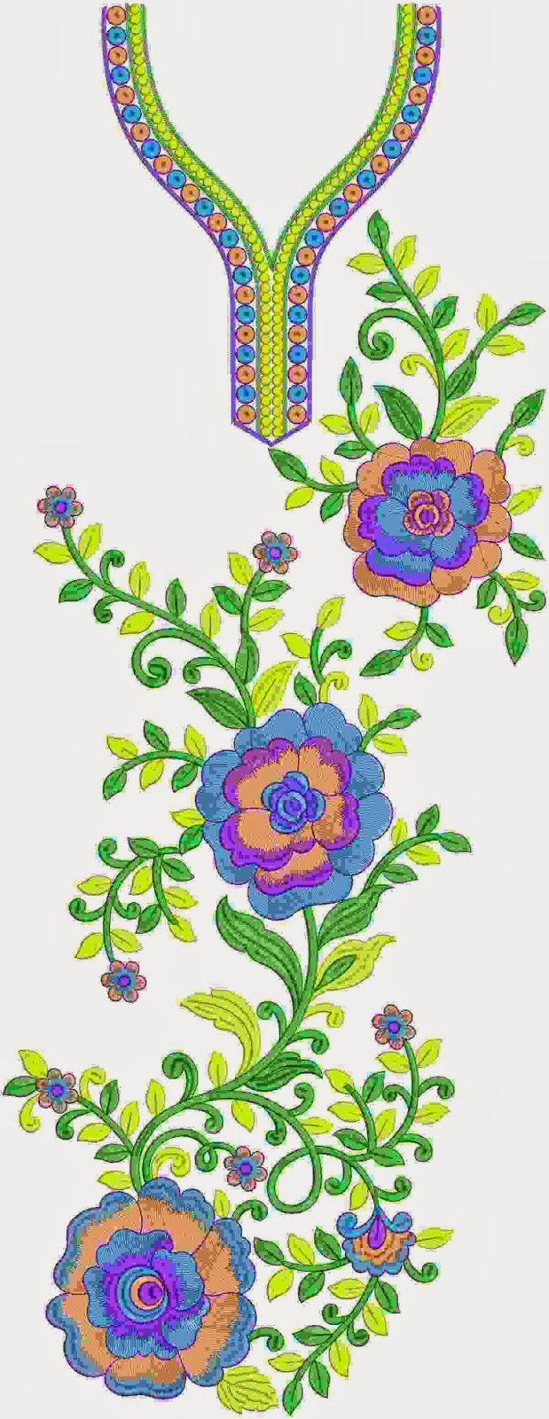 'N pragtige blou kleur Kurti
