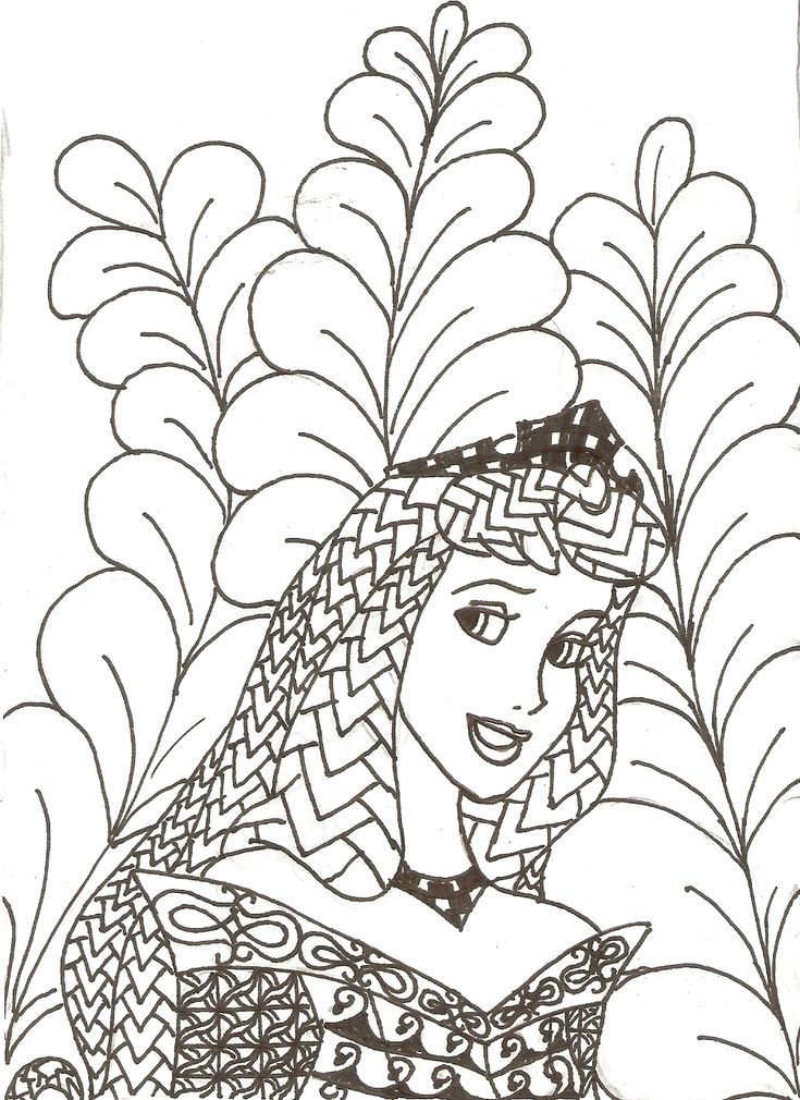613 best Coloring pages - DETAILED images on Pinterest Coloring - copy coloring pages princess sleeping beauty