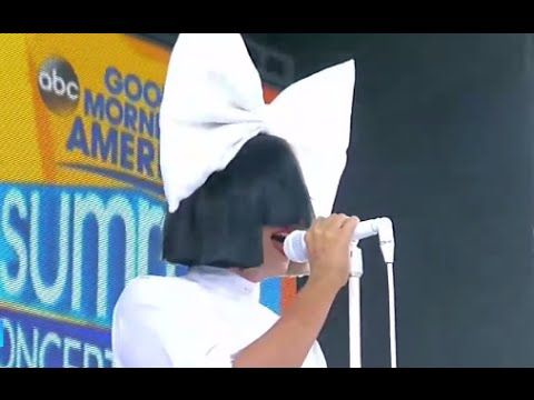 Sia - Unstoppable LIVE GMA Performance 2016