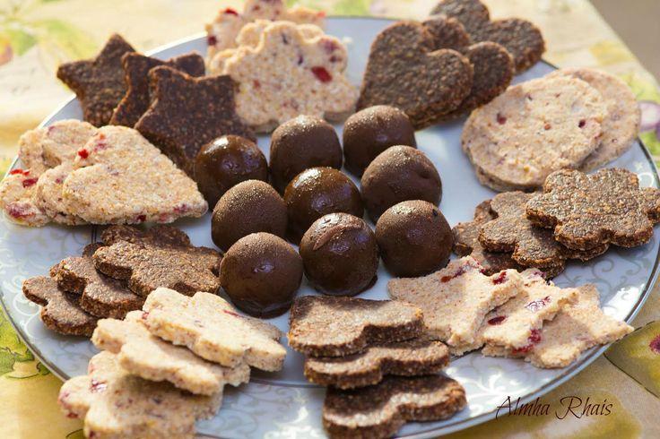 Raw Cookies & Candies ~ Almha Rhais