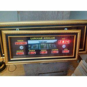 Jam digital masjid jual jadwal sholat digital otomatis murah Samarinda