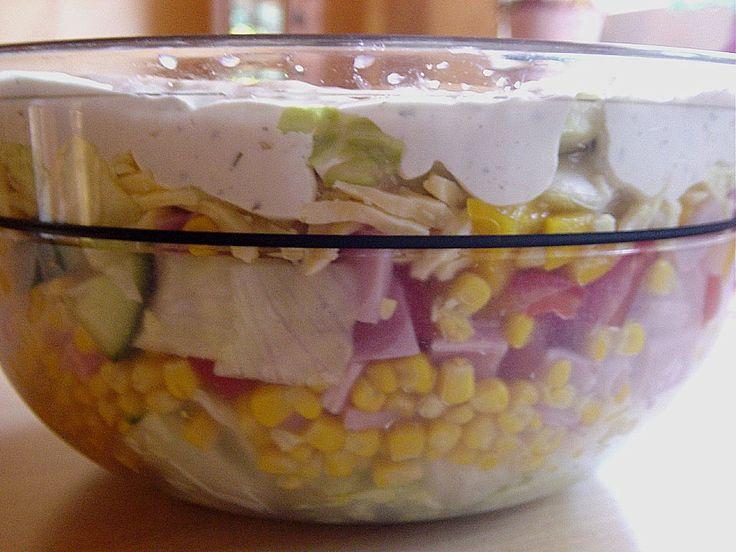 Schichtsalat klassisch