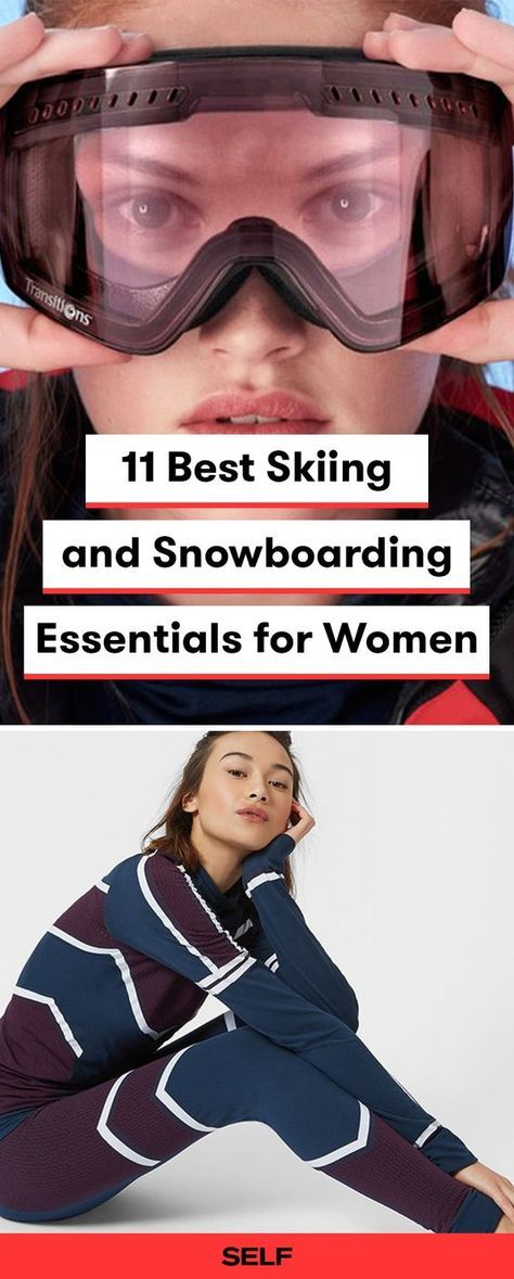 Find the best ski outfits for women in this list of top winter sports gear. These snowboarding pants, goggles, and more will keep you warm and stylish on the slopes.