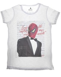 T-shirt Spiderman Out