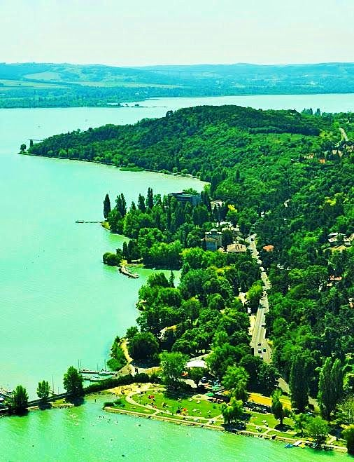 The Tihany Peninsula of Lake Balaton