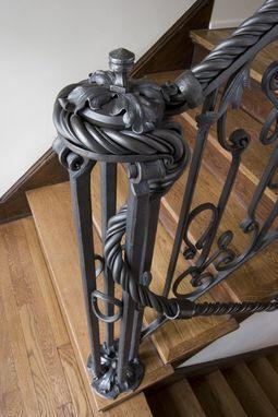 Best Custom Made Steel Handrail Кованые Железные Ворота Художественная Ковка И Кованое Железо 400 x 300