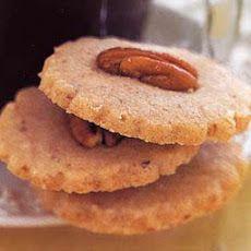 Pecan-Shortbread Cookies Epicurious | cookies | Pinterest