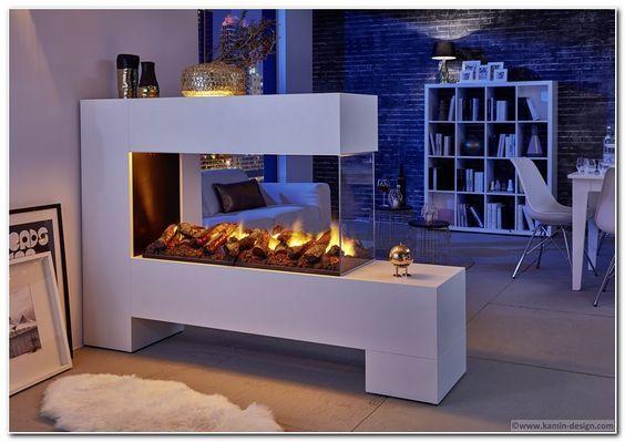 ASPECT 13 - L100 de Luxe - elektrischer Raumteilerkamin #KaminOfen #DreamKamin…