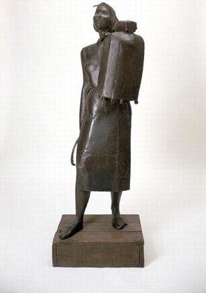 La Montserrat Julio González 1936-1937 Hierro 163 x 47 x 47 cm Stedelijk Museum de Amsterdam