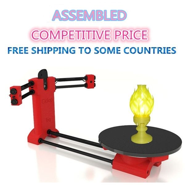 196.00$  Buy here - http://aliglz.worldwells.pw/go.php?t=32581779202 - Assembled Ciclop DIY 3d scanner , Reprap Open source 3d scanner for 3d printer 196.00$