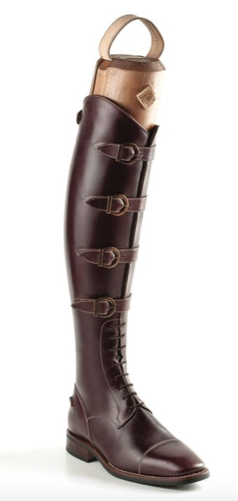 Have you always wanted a riding boot that you can wear in real life as well as in the arena? Here's your chance! This beautiful DeNiro tall boot in cocoa grain calfskin can be ordered by contacting StyleMyRide12@gmail.com #DeNiroCustomBoots #stylemyride StyleMyRide.net