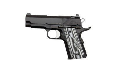Dan Wesson 01969 1911 ECO Pistol .45 ACP 3.5in 7rd Black for sale at Tombstone Tactical.