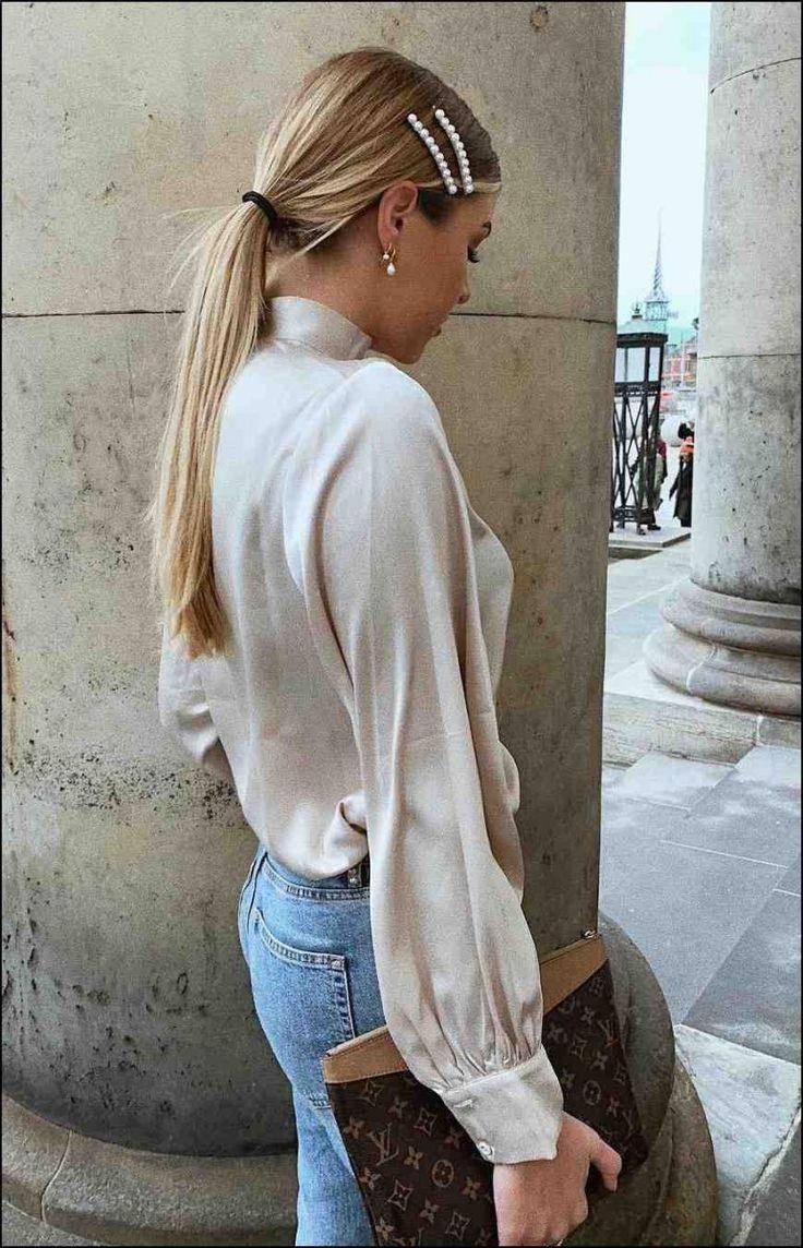 Tendencia romántica de joyería para el cabello