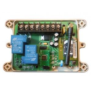 The wildly popular GSM AUTO!  Two high amperage relays (30 amps each @ 240V) with tons of control features.  Timed relays, an internal clock for triggering relays, and more!  This is our most advanced product.  See more at http://relaysupply.com