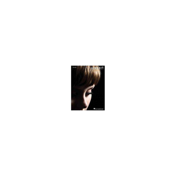 Adele 19 : Easy Piano (Paperback)