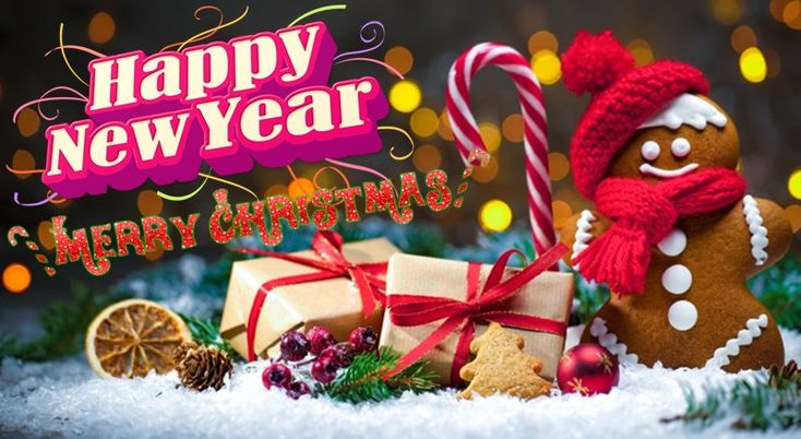 Merry Christmas And Happy New Year Status Messages - Merry Christmas And Happy New Year Wishes Quotes Greetings Messages Images 2018