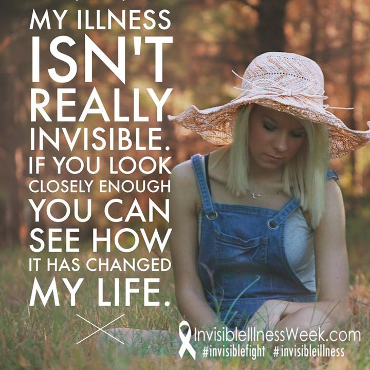 The signs are there is someone knows what to look for. #iiwk15 from InvisbleIllnessWeek on Facebook -come join us! #invisibleillness #iiwk #invisiblefight